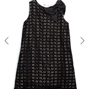 Kate spade ♠️ guipure lace shift dress with bow